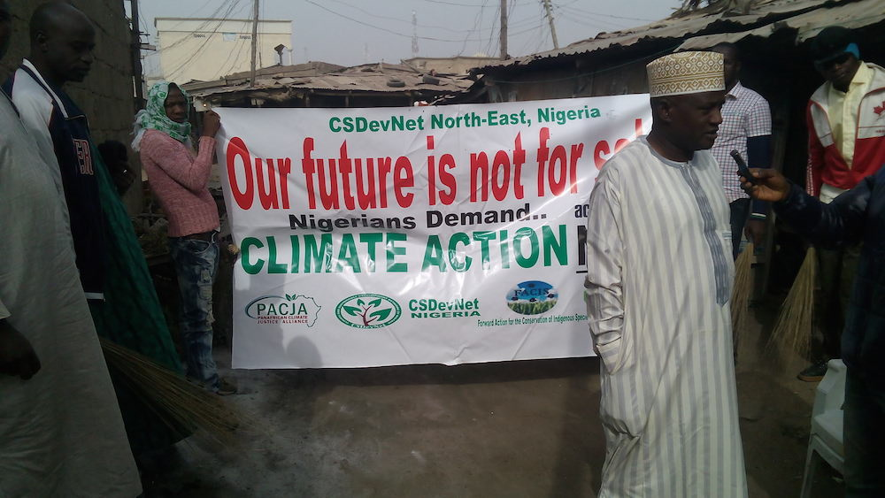 Bauchi Peoples Climate March/Cleanup ahead of Paris COP21