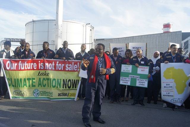 CSDevNet demands climate action at Paris COP21
