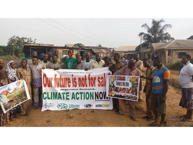 Abeokuta Peoples Climate March and City Cleanup