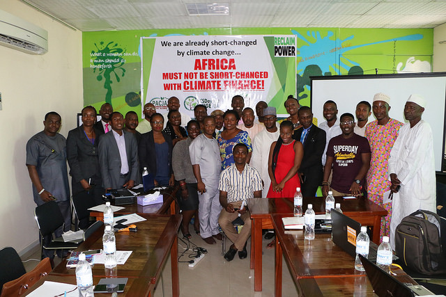 TOWARDS MARRAKECH: CSDevNet holds Nigeria's first CSO Pre-COP22 Forum