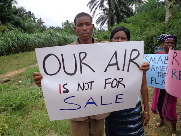 CSDevNet takes climate justice campaign to Nsan communities of Cross River State, South-South Nigeria