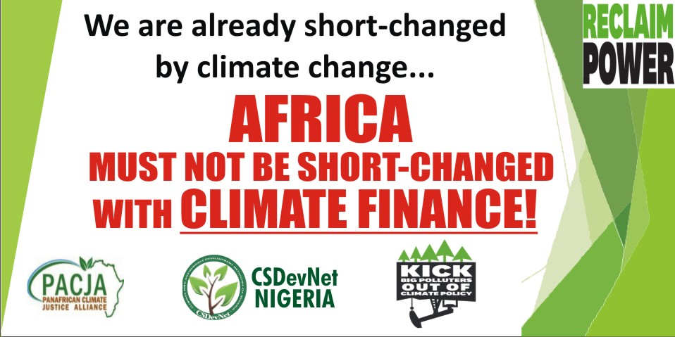 Nigerian civil society prioritises climate finance ahead of COP22