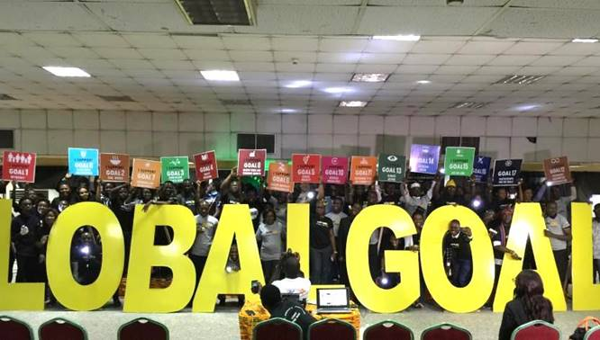 Thousands light the way for SDGs in Nigeria