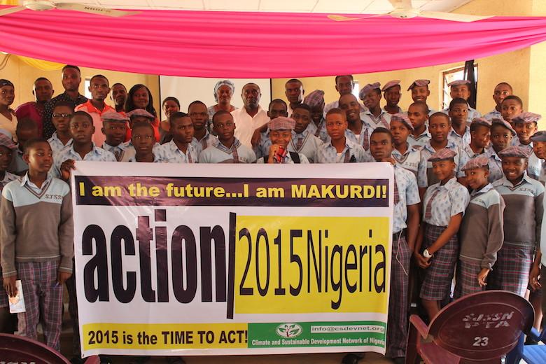I AM MAKURDI: action2015Nigeria in North-Central Nigeria